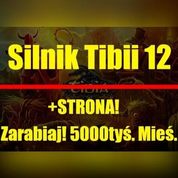 Tibia OTS Silnik 12 + Strona + Layout GUNZODUS!