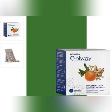 Witamina C 100 kapsułek lewoskrętna Colway