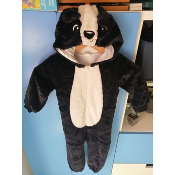 Strój przebranie h&m panda pandzia 4 lata zielony