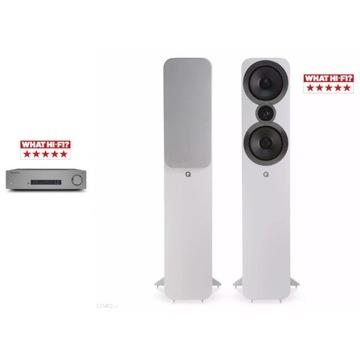 Cambridge audio cxa81+ Q Acoustics 3050i białe