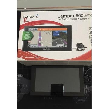 GARMIN CAMPER 660 LMT-D   nawigagacja z kamerą cof