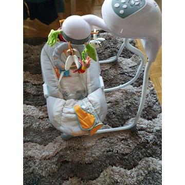Bujaczek huśtawka elektryczna Caretero Bugies