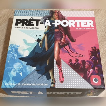 GRA PRET A PORTER wersja Kickstarter nie używana