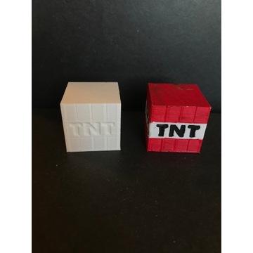 TNT z minecrafta - wydruk 3D