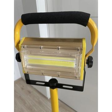 Lampa Halogen LED przenośna + stojak
