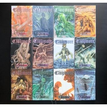 manga claymore 1-12