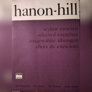 Hanon-Roch Hill Ch Wybór ćwiczeń na fortepian nuty
