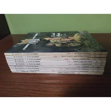 XIII tomy 1-9 Vance Van Hamme