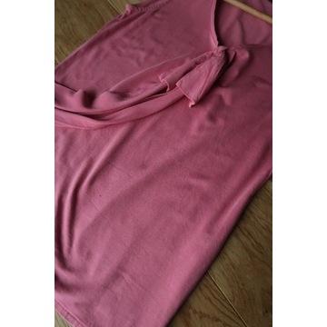 Massimo Dutti top kokardą różowy Xs