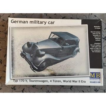 German military car 170V 1:35 MB 35100 samochodu