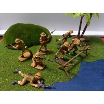 Żołnierzyki w skali 1 : 32 woj.Brytyjskie