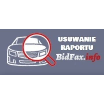BIDFAX Bidfax.info Usuwanie Raportu pojazdu 24h !