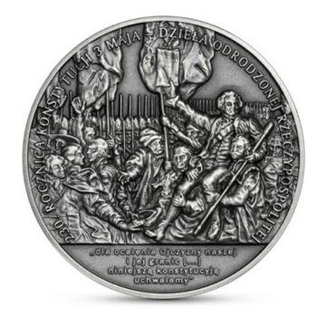 50 złotych 230 rocznica Konstytucji 3 Maja