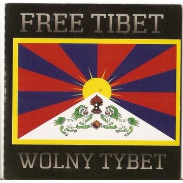 FREE TIBET Wolny Tybet -Ainu Save Tibet
