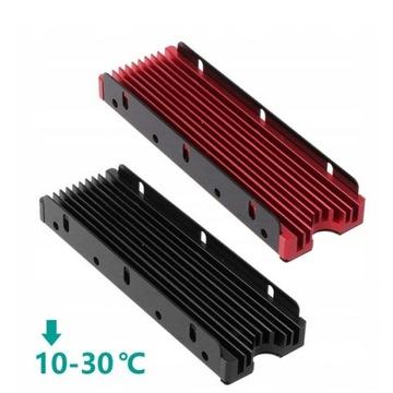 2 szt JEYI radiator chłodzenie SSD M.2 NVMe/SATA