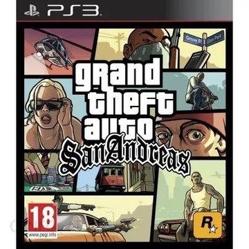 GTA San Andreas + Mapa Ps3