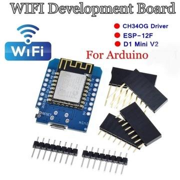 Moduł WiFi WEMOS D1 mini ESP8266-12F Arduino iot