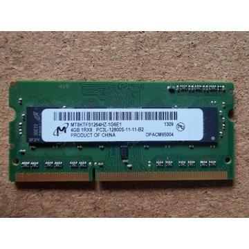 Micron Pamięć DDR3 4GB 1600MHz MT8KTF51264HZ-1G6E1