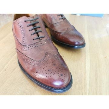 Buty półbuty brogsy męskie okazjonalne Pilpol R 43