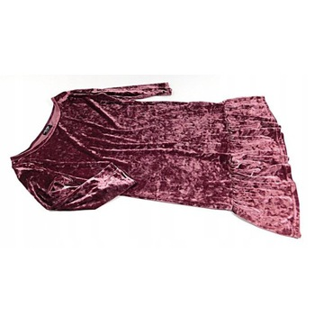 Tom&Rose-elegancka sukienka z aksamitu, roz. 12/40