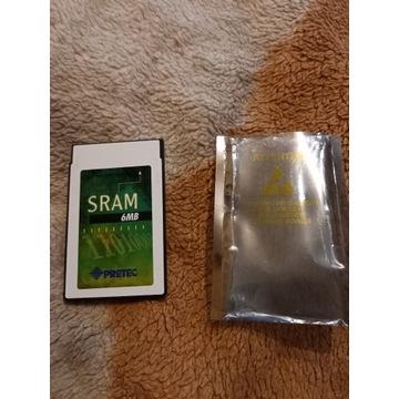 Commodore Amiga SRAM pamięć 6mb na wejście pcmcia