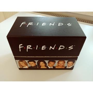 PRZYJACIELE friends 10 sezonow dvd jezyk angielski