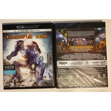 Pacific Rim - 4K UHD + Blu Ray, HDR, PL folia