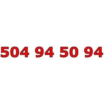 504 94 50 94 ORANGE ŁATWY ZŁOTY NUMER STARTER