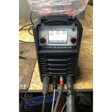 TIG AC DC IDEAL HF Puls LCD EXPERT TIG 220 ALU