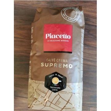 Kawa ziarnista PIACETTO CAFE CREMA SUPREMO 1kg