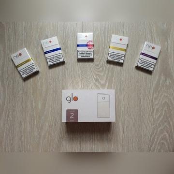 Podgrzewacz tytoniu GLO series 2 kolor rose wkłady