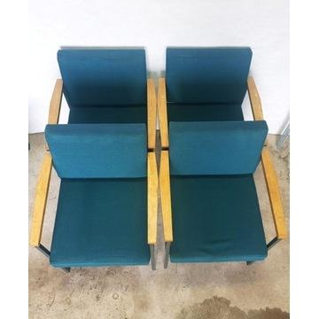 Wyjątkowe Rzadkie Fotele 4szt FROSCHER Vintage