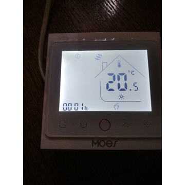 Regulator, termostat pokojowy WIFI internet.