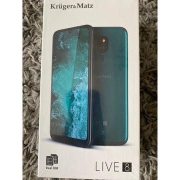 SMARTFON KRUGER&MATZ LIVE 8 BLACK 64GB 3GB