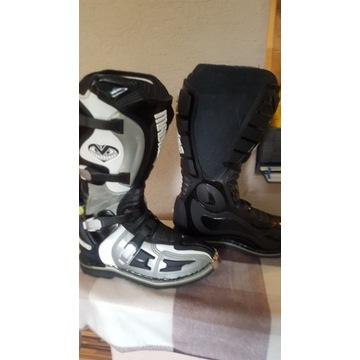 Buty motocyklowe MADHEAD rozm.41 cross/enduro/quad