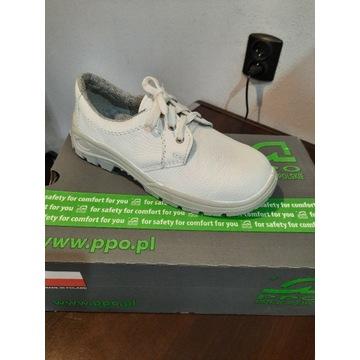 Buty robocze białe 39 PPO