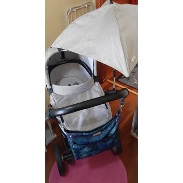 Wózek Mutsy  2w1 z dodatkami  beloff i parasolką