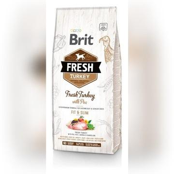 Brit Fresh Turkey with Pea 12 kg, przesyłka 0zł