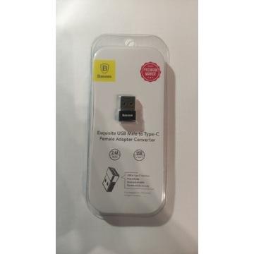 BASEUS Adapter USB-C do USB-A