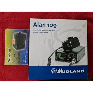 radio cb alan109
