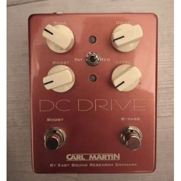 Carl Martin DC Drive overdrive booster