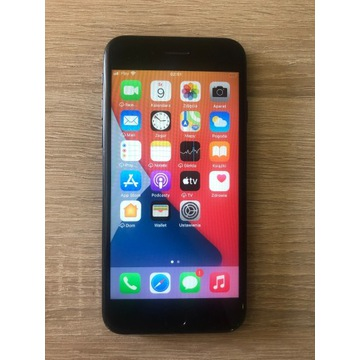 Iphone 7 black uszkodzony