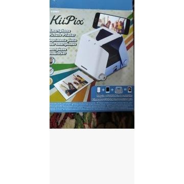 TOMY KIIPIX przenośna drukarka analogowa niebieska