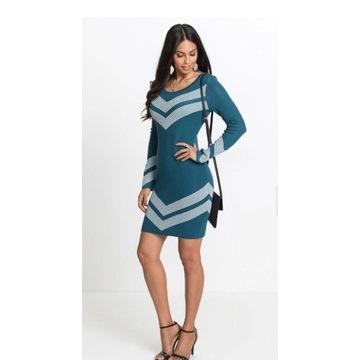 Body Flirt sukienka dzianina 44 46 XXL