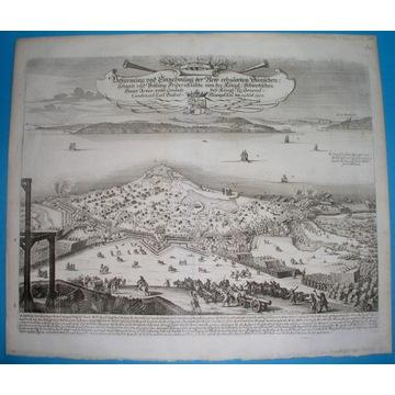 1667 ORYGINAŁ WOJNA BITWA OBLĘŻENIE MERIAN