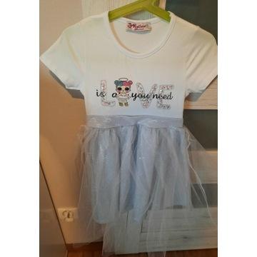 Zestaw sukienek dla dziewczynki jak Nowe