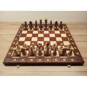 Drewniane szachy Consul w kasetce
