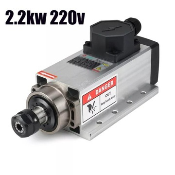 Wrzeciono 2.2kW 2200W 220v ER20 CNC ploter silnik
