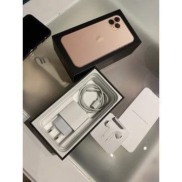 Apple iPhone 11 Pro złoty 64GB 92% super stan