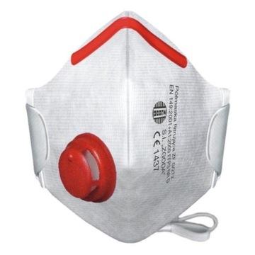 Maska maseczka ZGODA ,medyczna ANTYWIRUSOWA FFP3